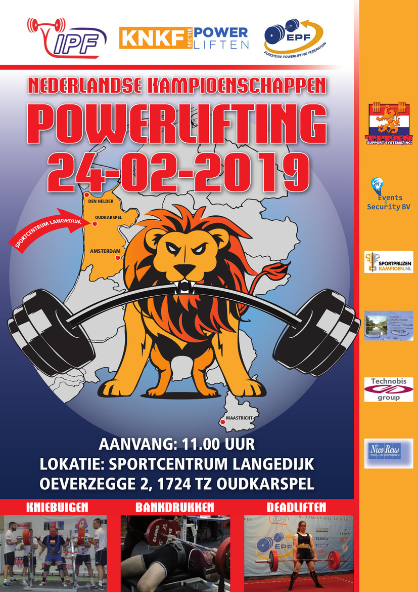 NK Powerliften Equipped 2019