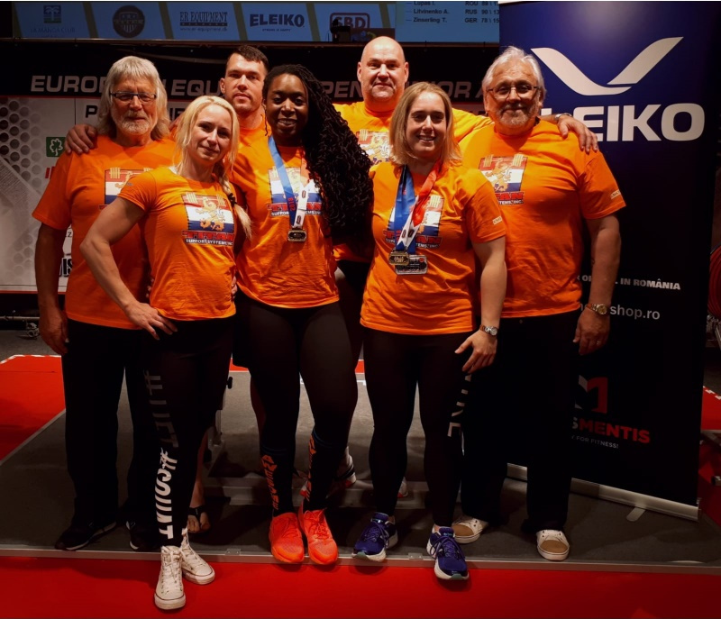 Verslag EK Powerliften Equipped 2018